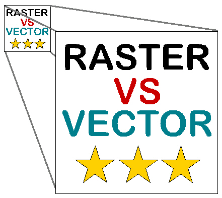 Rastor VS vector1